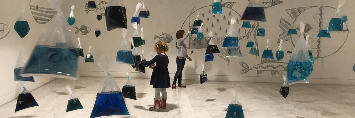 BIG ART EXPERIENCES FOR LITTLE CREATIVE MINDS